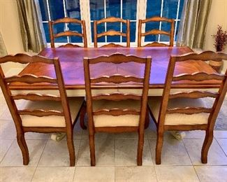 Purchased at Domain - Gisele Dining Table