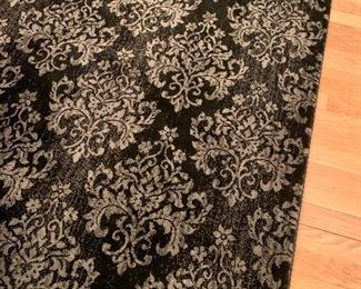 """Dining room rug. This was purchased through decorator """"Simply Stated"""" in Needham."""