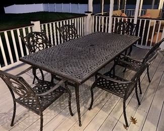 Chateau Collection from Macy's Table and 6 Chairs