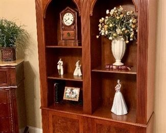 Purchased at Domain - Tuscan Walnut Bookcase