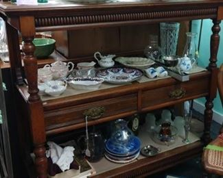 Antique server   50% off original price