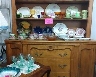 SALE PRICE of $300!   China, glassware various prices and discounts