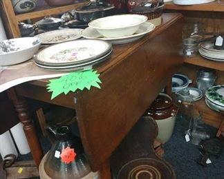 Antique farm tables (2 available)
