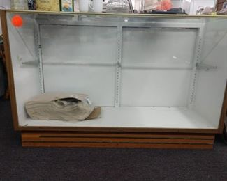 Display cases for sale  (pictured wood/glass)                                         other displays available are all glass