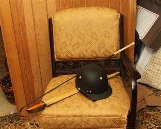 Gentleman's sword chair