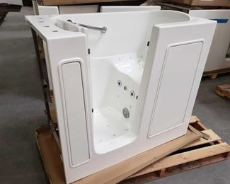 """415: Therapy Tubs Model 2645 with Jets and Pump Measures approximately 26"""" x 45"""" x 39"""" tall"""