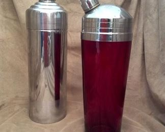 Deco Cocktail Shakers