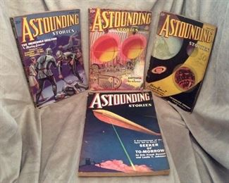 Astounding Stories... Older Sci-Fi Pulp Mags