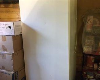 Upright Westinghouse freezer