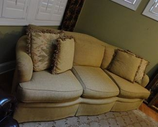 """Couch is 96"""" long (great for taking a nap!)"""