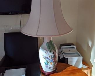 one of many lovely lamps!
