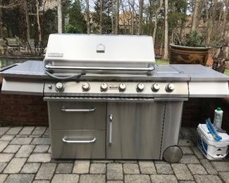 Jenn-aire gas grill