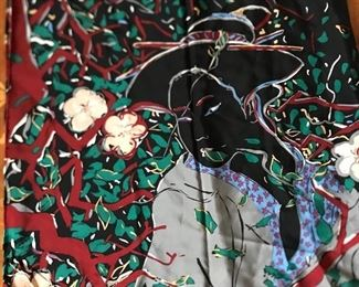 Nadia Roden silk scarf