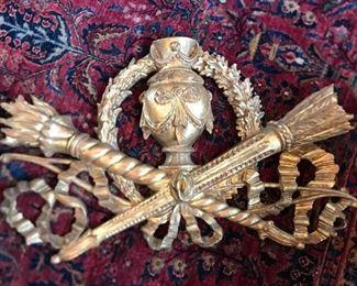 Large vintage Florentine decorative piece