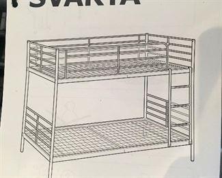 Tubular bunkbed by IKEA