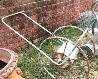 Vintage hose reel