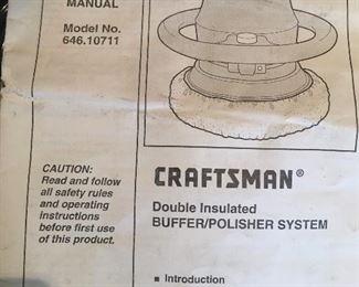 Buffer/polisher by Craftsman