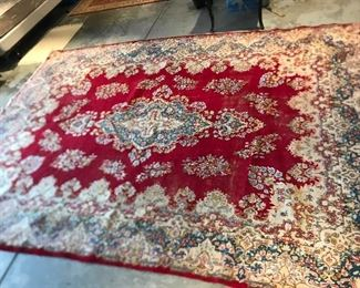 Large oriental rug, appropriately 11'x8'