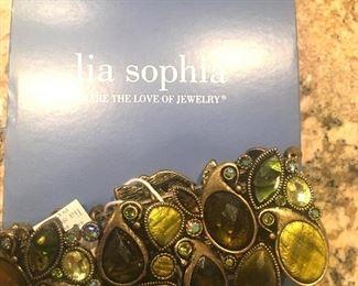 Lia Sophia jeweled bracelet