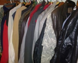 men's and women's jackets and sweaters