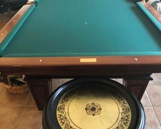 "Connelly 9' Cherry Championship Pool Table ""Cochise"""