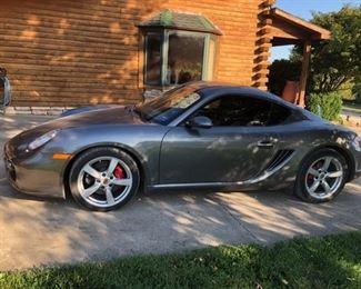 Porsche Cayman S - 2008