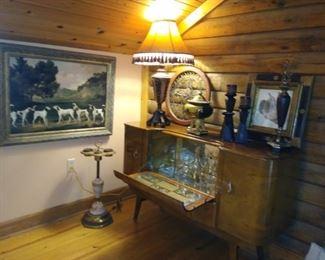 Stunning antique bar, 1 of several