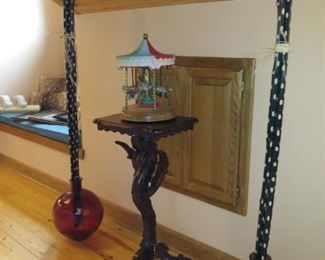 gorgeous carved stand