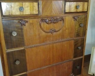 antique chests, dresser