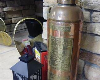 antique fire extinguisher