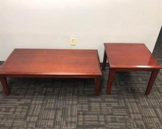 Coffee table and end table combo