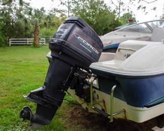 STRONG RUNNING 70HP OUTBOARD!