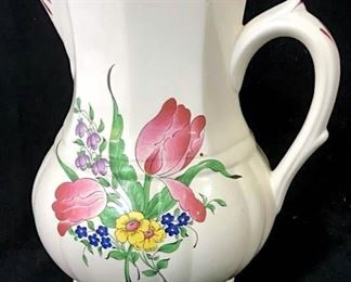 KG LUNEVILLE French Vintage Pitcher
