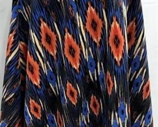 Designer BOBEAU Textured Southwest Skirt
