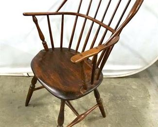 Vintage Wooden Windsor Armchair