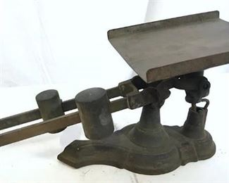 Antique Fairbanks & Co Cast Iron Scale, c.1900s