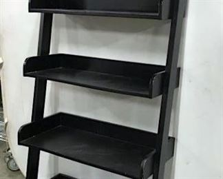 Pottery Barn Leaning Bookcase Shelf