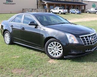 #98: 2012 Cadillac CTS, Leather Interior, 3.0L Gas V6. 162,476 Miles. VIN: 1G6DA5E59C0111606