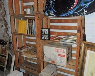 crates for storage