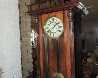 1800's Gustav Becker regulator clock