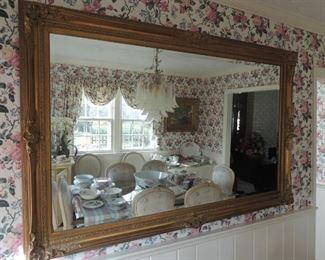 large decorator mirror (originally $3000.)