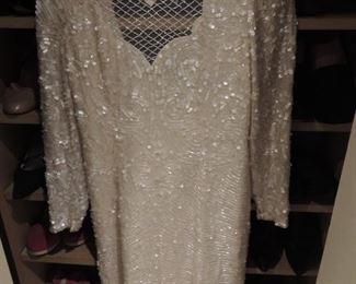 Oleg Cassini wedding dress custom  made