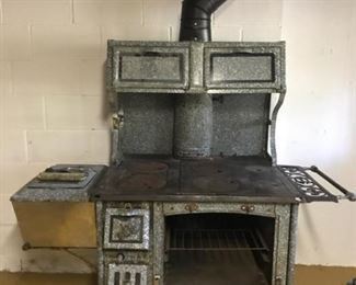 Home Comfort Antique Wood-Burning Cook Stove