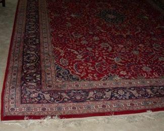 Oriental rug (14' x 9 3/4')
