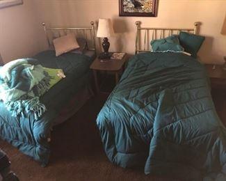Brass beds