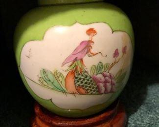 Famille rose Qing dynasty vase