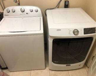 Washing machine and dryer