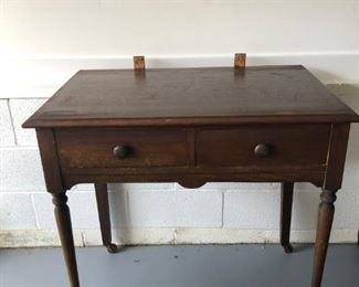 Dressing table without mirror.