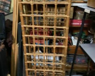 Wine rack or dough rollers rack