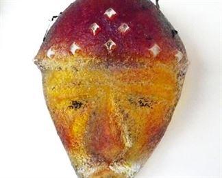 Diane Ferland for Cassandre Glass Studio - Masks Wall Art